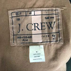J. Crew Jackets & Coats - J. Crew Brigadier Utility Jacket Camel Brown Small